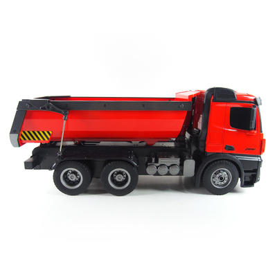 1:14 engineering alloy dump rc toy truck 10CH 2.4GHz