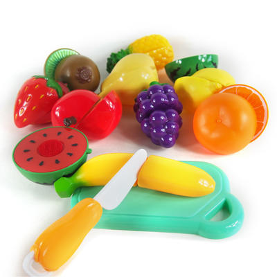 Little fruit play toy kitchen food pretend playset 12 Pieces