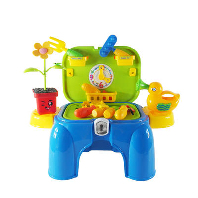 indoor and outdoor game toys kids gardening tools play set