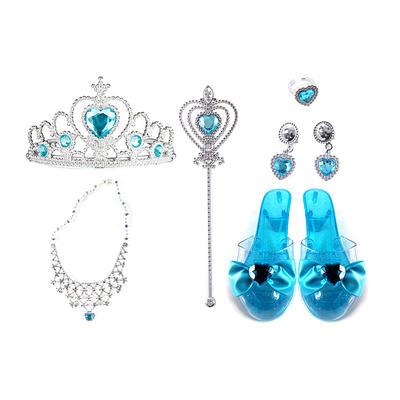 Princess pretend toy dress up jewelry set for girls many pieces