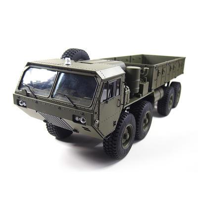 1/12 scale metal remote control 8X8 kids rc trucks simulation